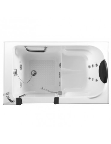 Free standing bath tub with door Q380-jet