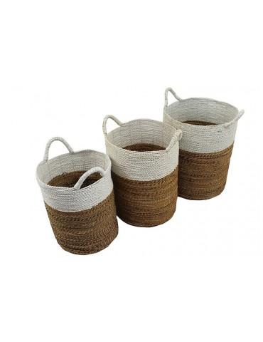 Baskets Made of Banana Leaves