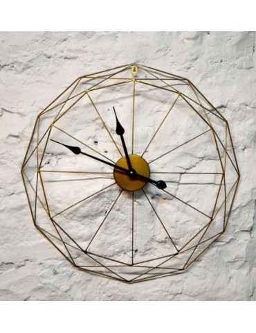 Clock metal diamond cut