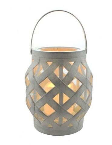 Lantern antic white