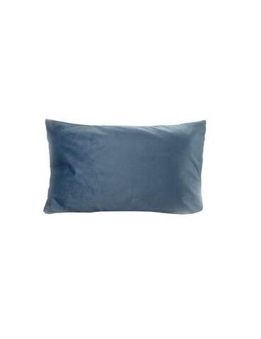 Cushion blue velvet