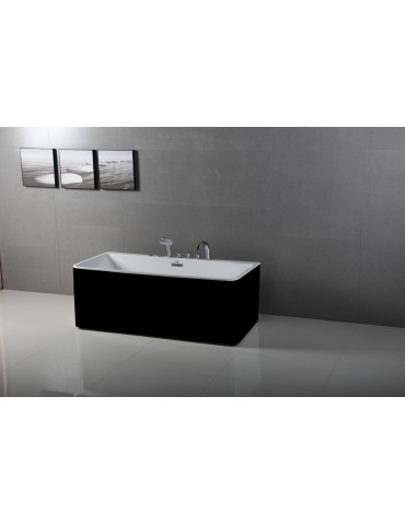 Freestanding Bathtub Argos Black