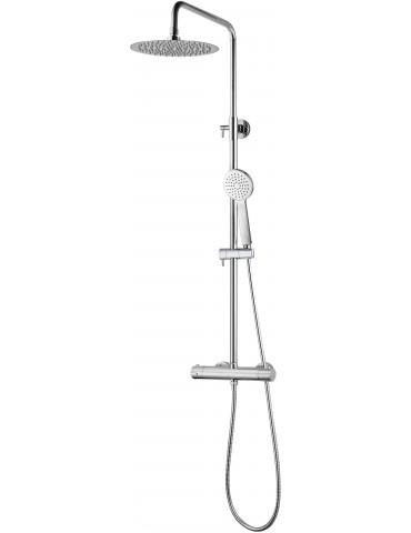 Thermostatic shower/bath faucet