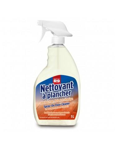 Spray-on floor cleaner