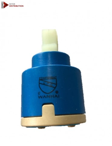 Faucet ceramic cartridge - diverter