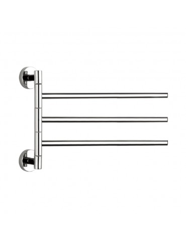Two-arm Movable Towel Rack