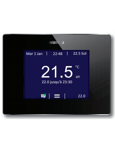 Thermostat touch