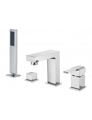 Brass faucet with zinc handle, Arès Collection