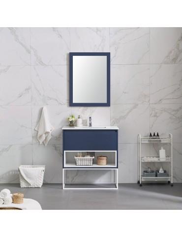 Vanity Mason bleu 32''