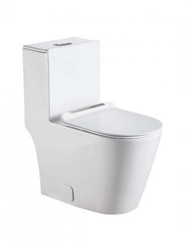 One piece toilet ID012OPT