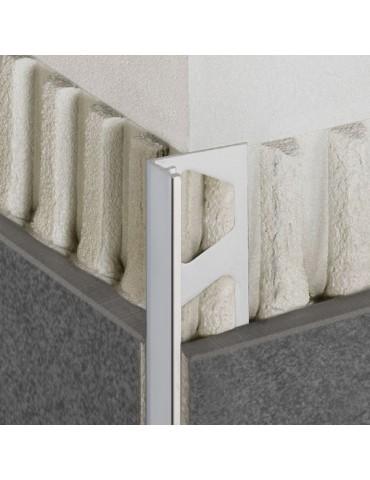 Edge Trim Schluter -JOLLY -PVC White - 3/16 in.